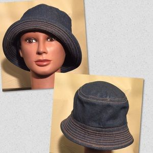 Accessories - CUTE DENIM BUCKET HAT